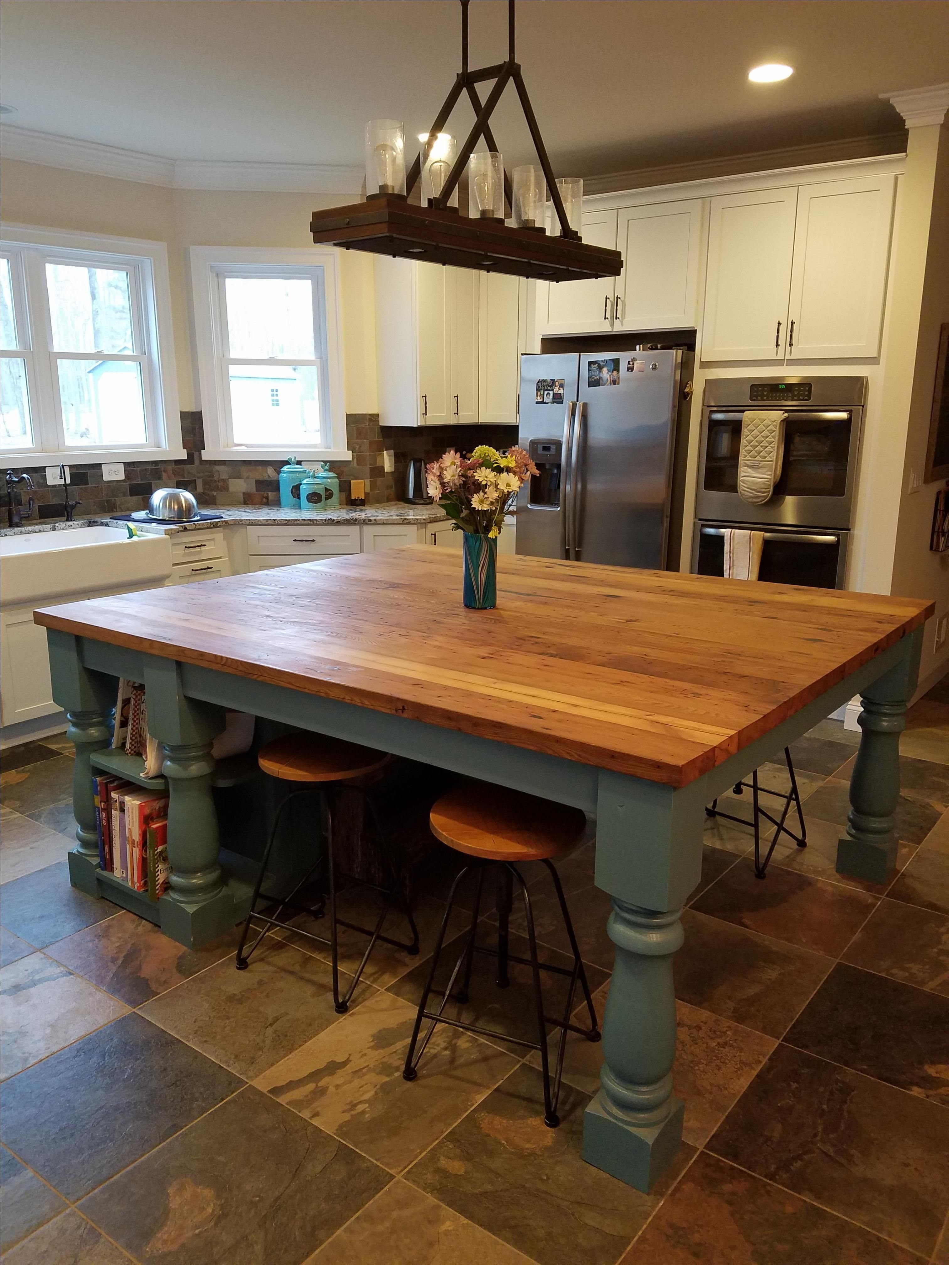 Kitchen Island With Cabinets And Seating 2020 Kitchen Island Dining Table Custom Kitchen Island Wooden Island Kitchen