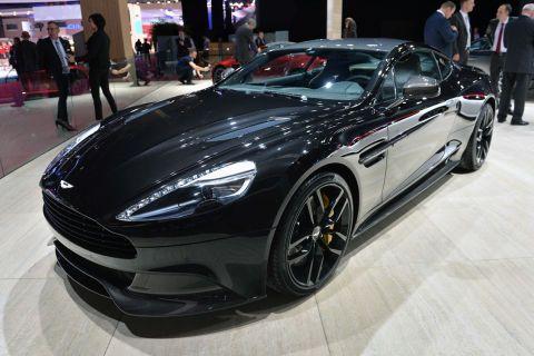 Aston Martin Vanquish Carbon Edition: Paris 2014 - Autoblog