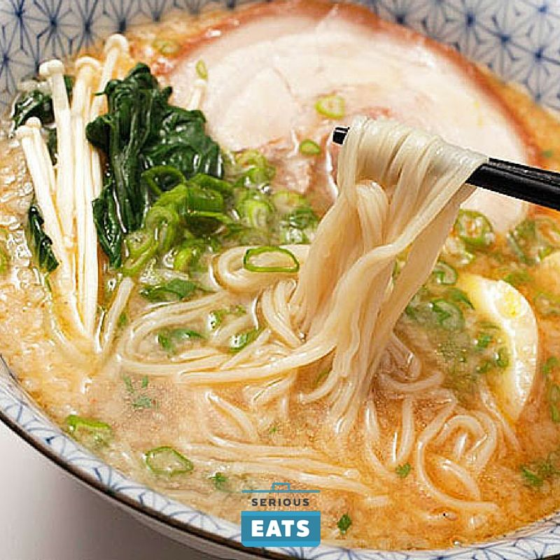 Adding baking soda to your boiling water can transform regular dry pasta into ramen noodles.