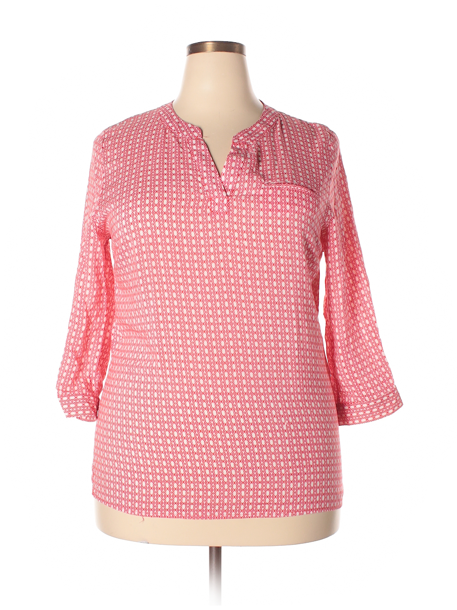 3 4 Sleeve Blouse Blouse Clothes Tunic Tops