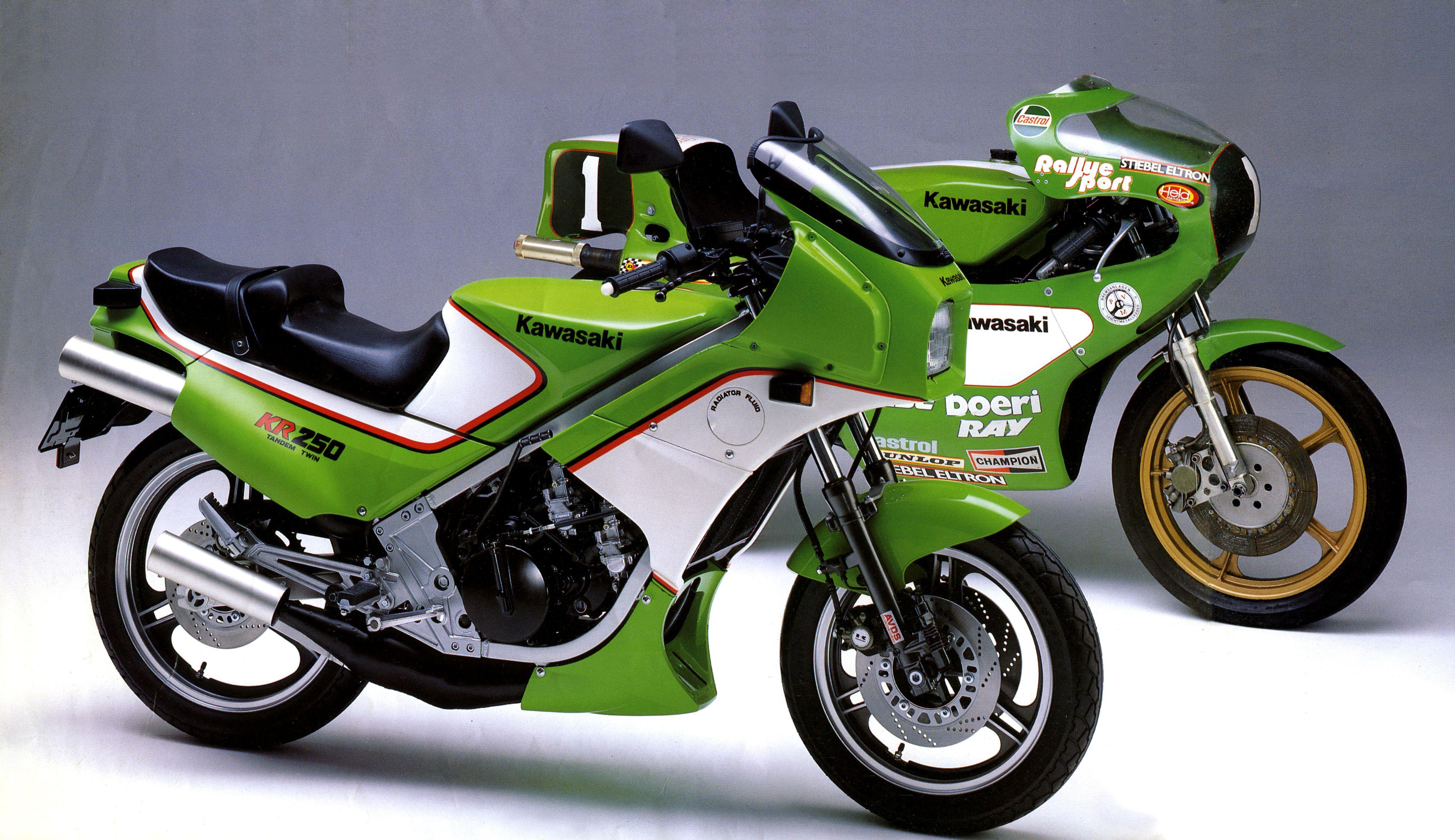 Kawasaki KR250A & KR250 GP Grand Prix Racing Motorcycle