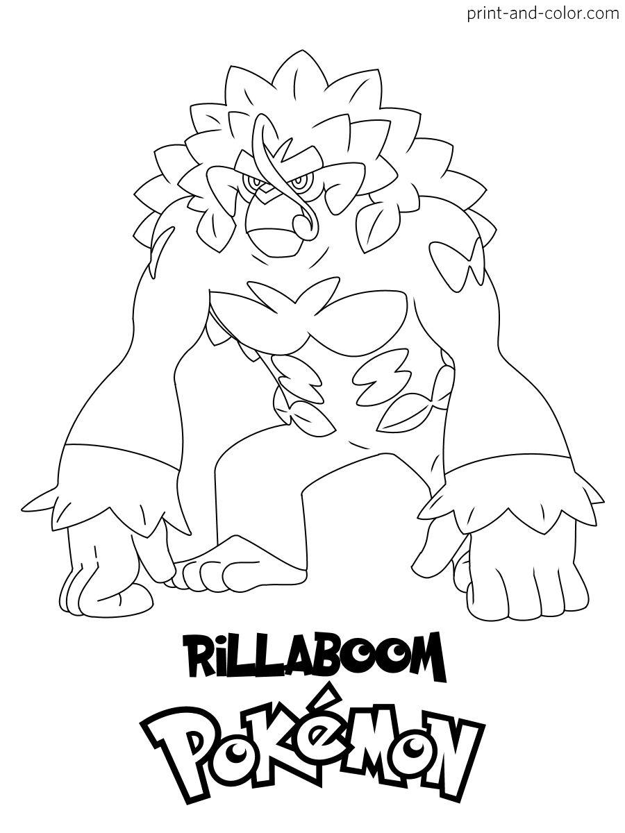 Pokemon sword and shield  Pokemon coloring pages, Coloring pages
