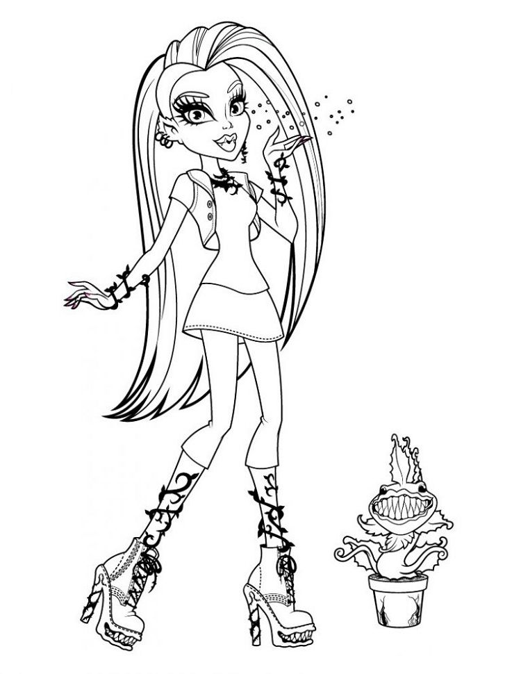New Monster High Coloring Pages Mermaid Coloring Pages Monster Coloring Pages Monster High Pictures