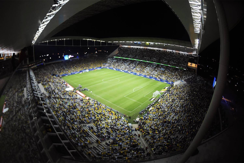 Brasil 3x0 Paraguai - Eliminatórias da Copa do Mundo Rússia 2018, na Arena Corinthians, em São Paulo - 28/03/2017.