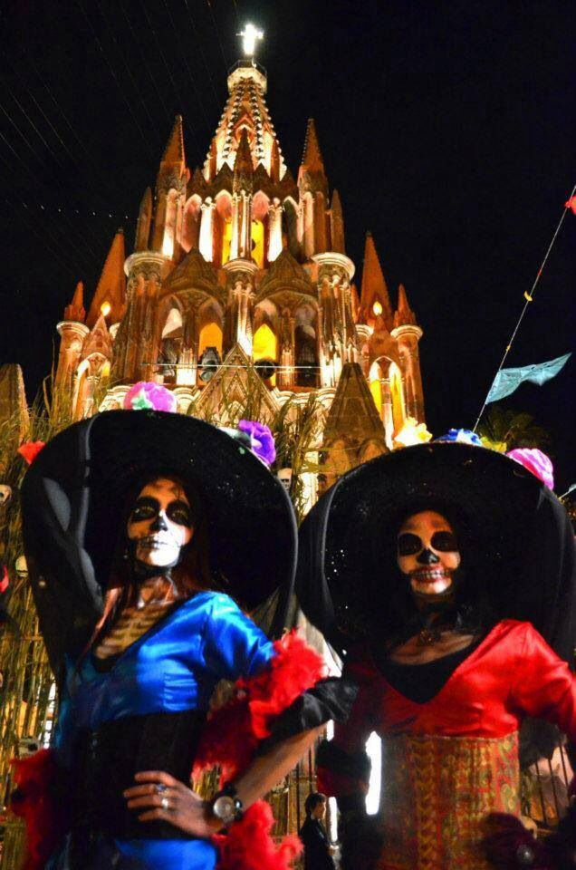 Dis De Los Muertos San Miguel 2013 Mexico Day Of The