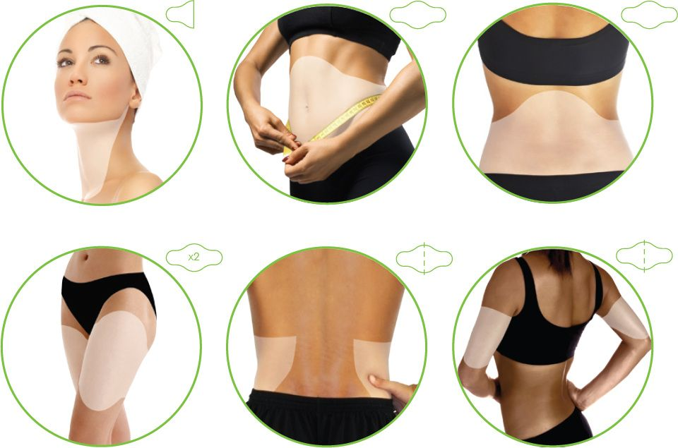 Façons de porter le body wrap - Applicateur Corporel