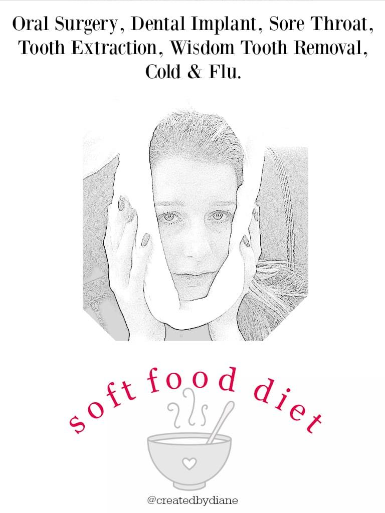 cold and flu Foods picky eater | Created by Diane #softfoodsaftersurgeryteeth