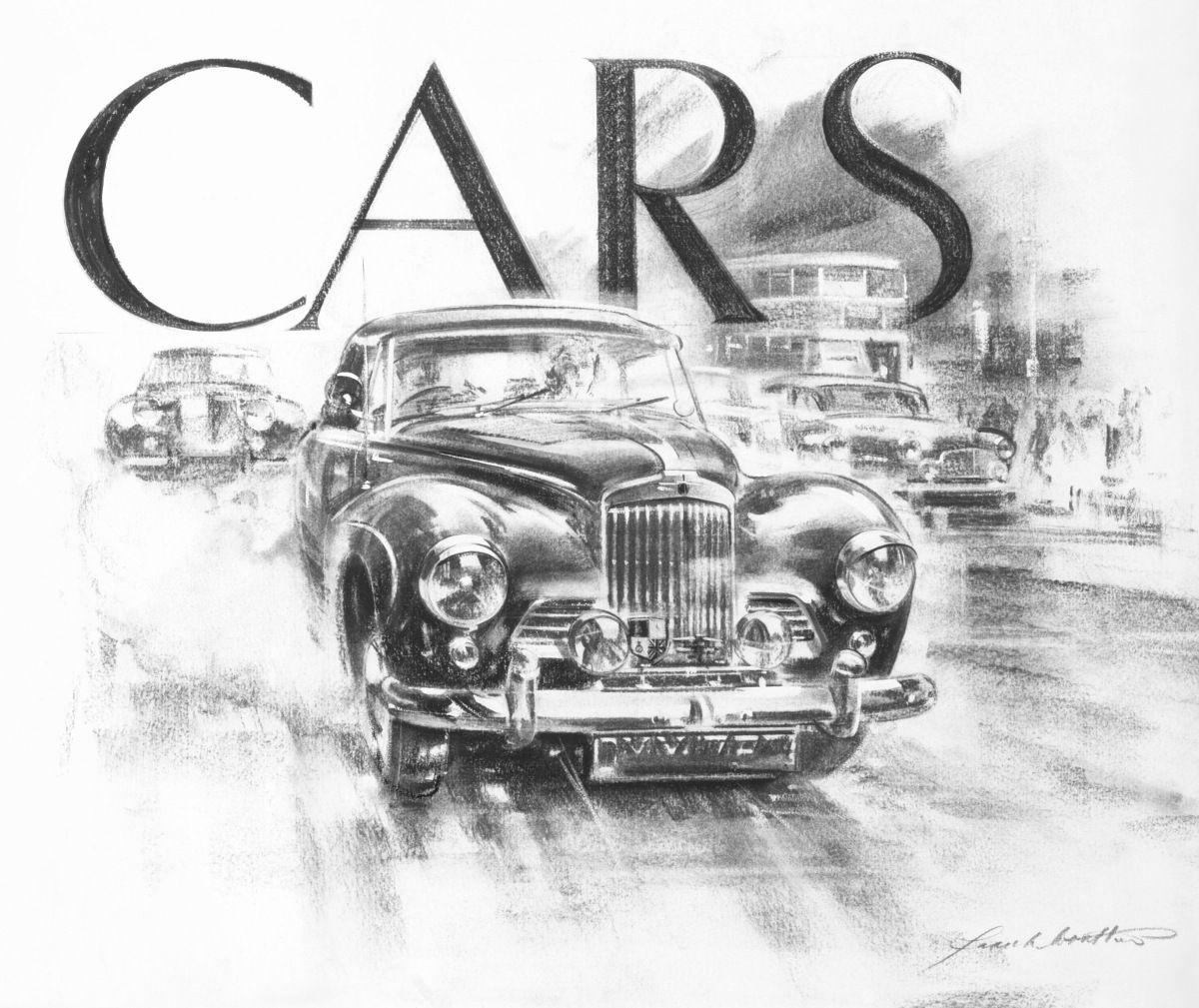 Image Result For Vintage Car Pencil Sketch Diaries Pinterest