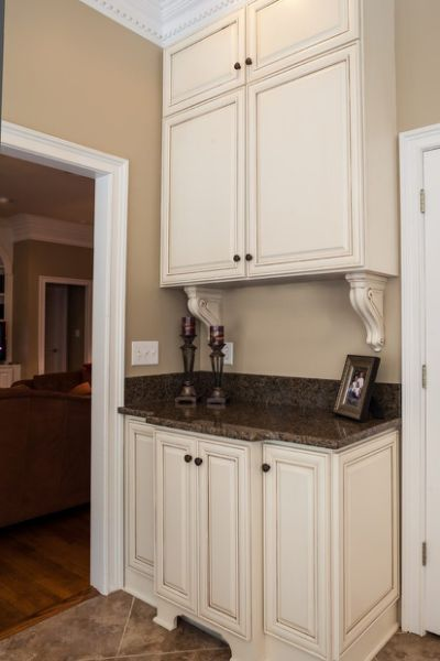 appealing white kitchen cabinets beige walls | sherwin williams accessible beige | House in 2019 | Beige ...