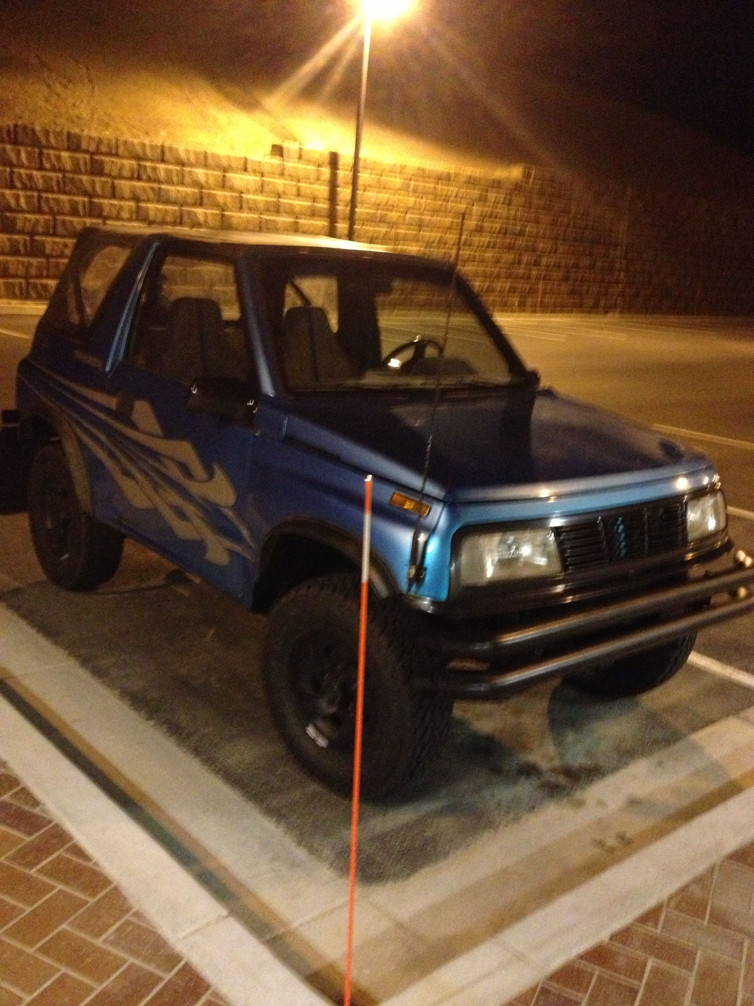 hight resolution of after 4 months my 95 geo tracker is alive