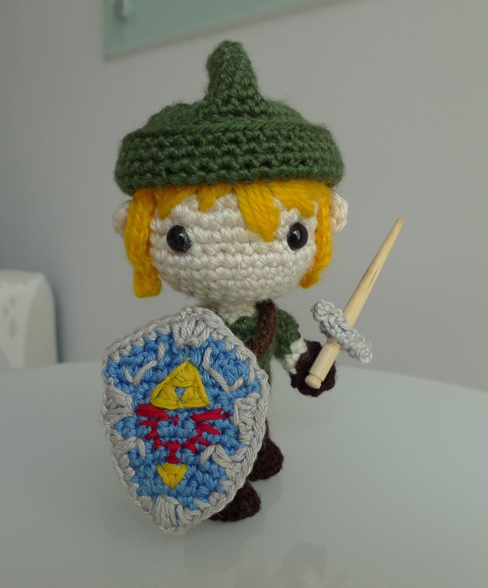 Sword and shield for Link, Zelda, Nintendo, #crochet, free pattern ...