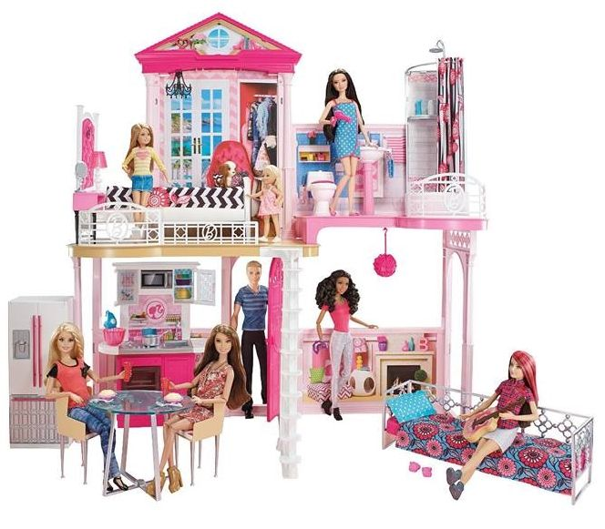 1961 U2013 2018 STRUCTURES/ Playsets U2013 Houses, Furniture And Shops For Barbie,  Family And Friends Dolls! Glam HouseBarbie Dream ...