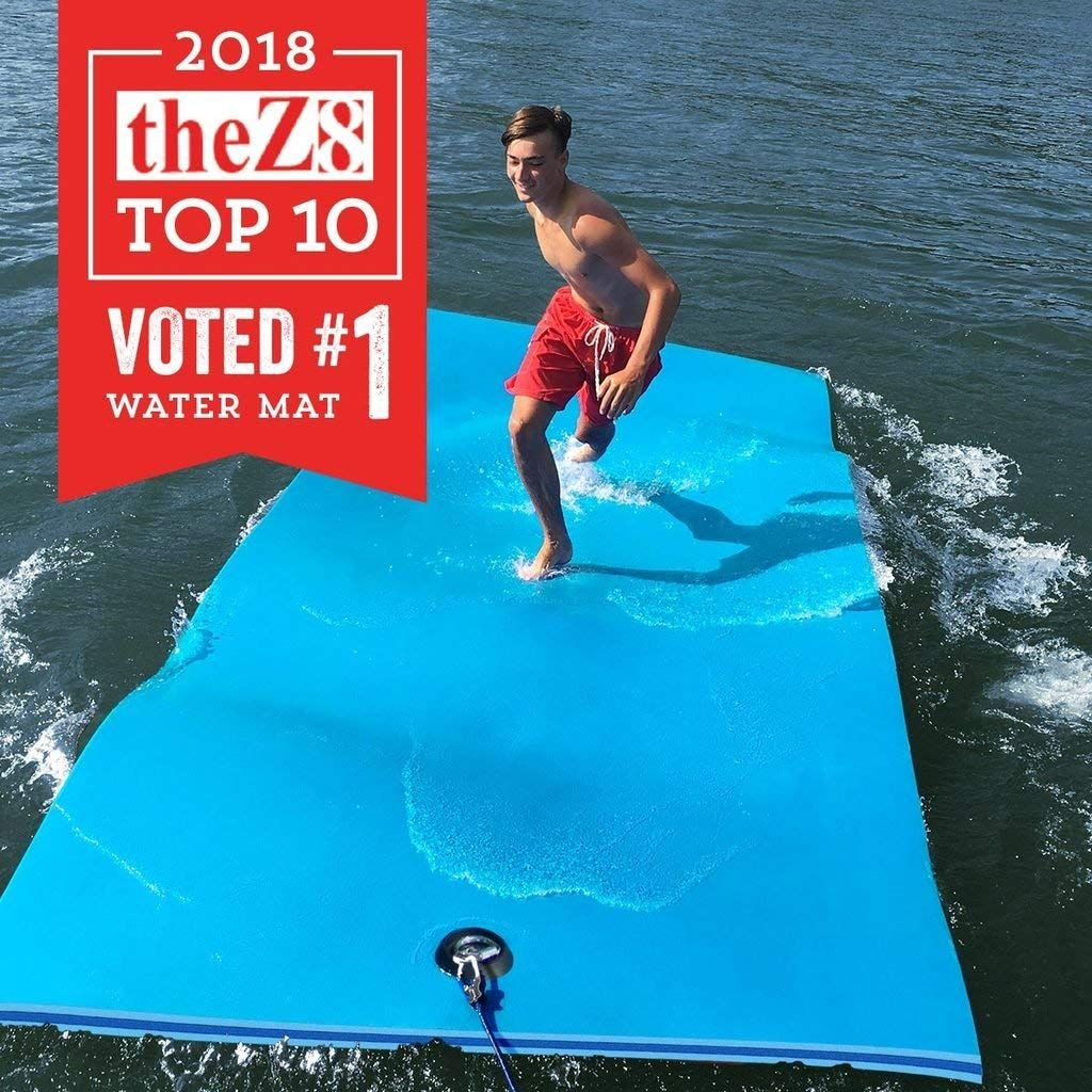 Top 10 Best Floating Water Mats In 2020 Topreviewproducts Swimming Pool Floats Lake Floats Water Mat