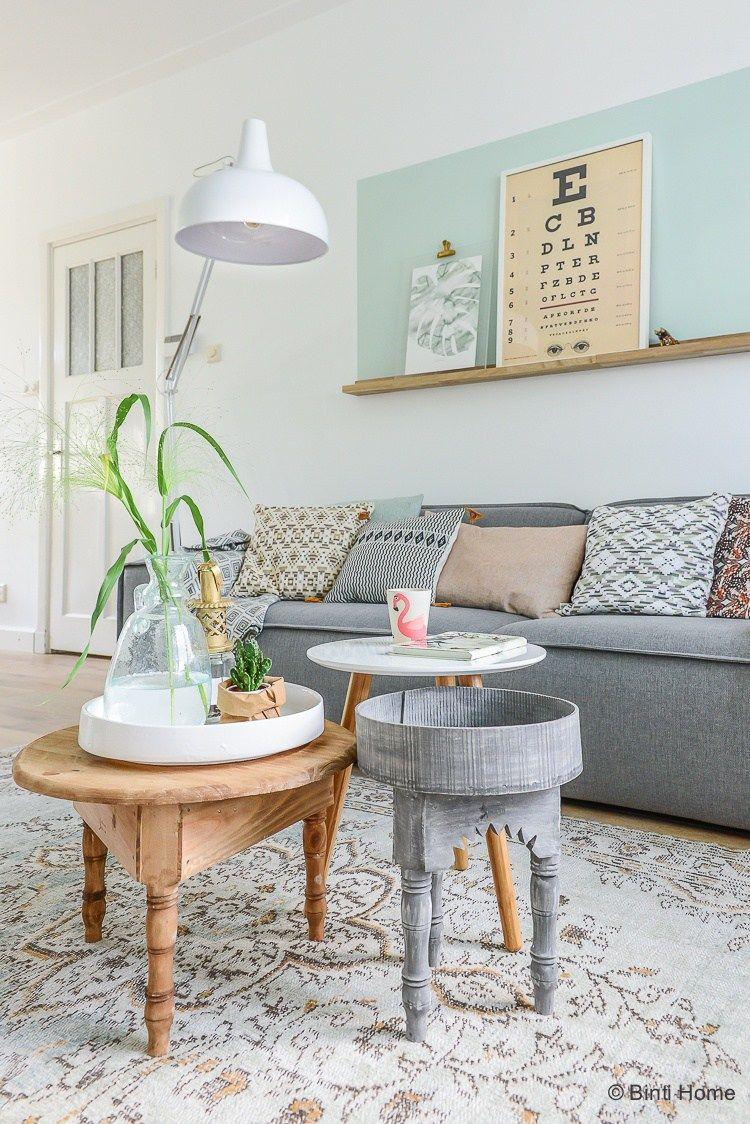 Grey sofa styling tips Woonkamer inrichten kleur vlak boven de ...
