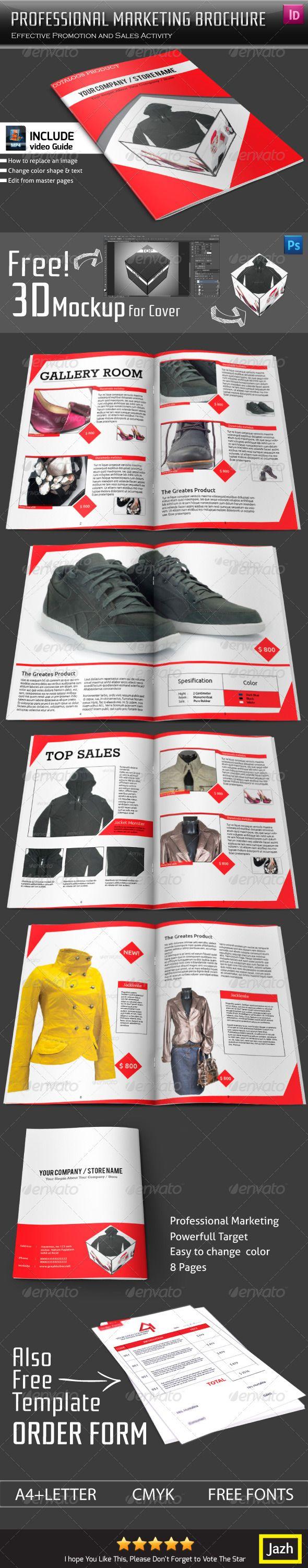 Professional Marketing Brochure  Catalogs Brochures