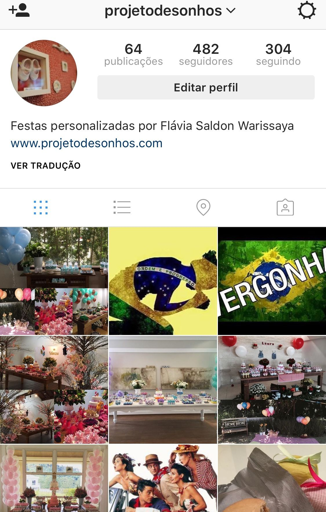@projetodesonhos Instagram
