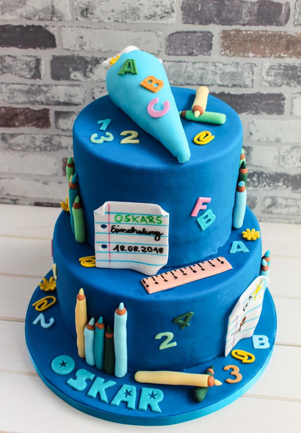 Motivtorten Muffin Queen Torte Einschulung Kuchen Einschulung Torte Schulanfang