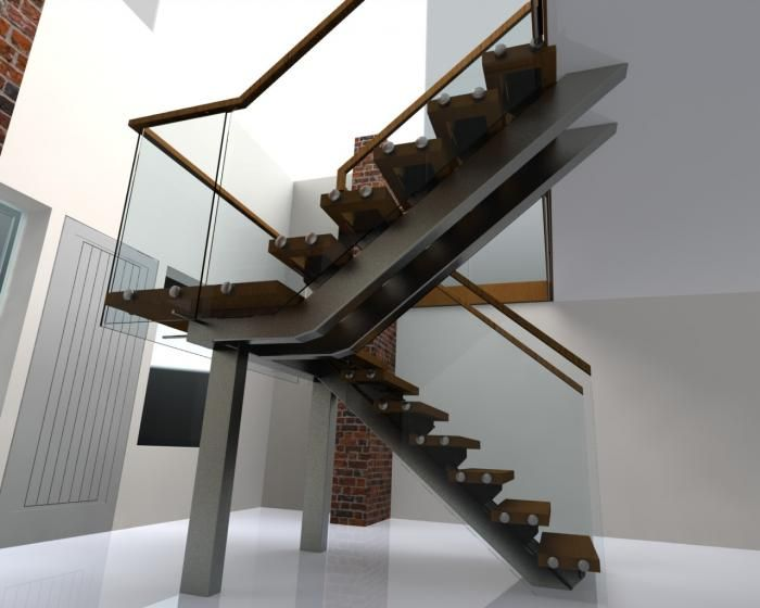 Best Central Carriage Stair Design Modern Staircase Home 400 x 300
