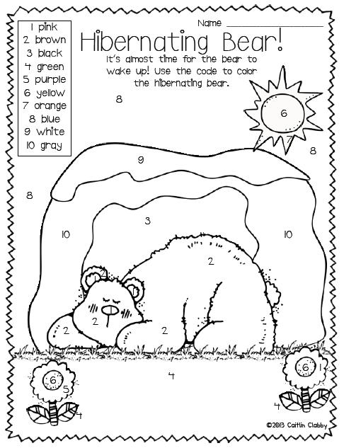 All About Bears Math Literacy And So Much More Animals That Hibernate Winter Preschool Hibernation Preschool
