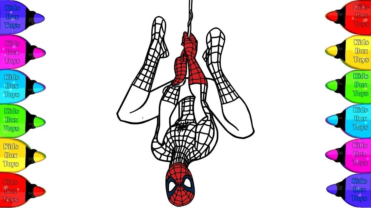 Spiderman Coloring Pages How To Draw Spiderman Spiderman Coloring Pa Spiderman Drawing Spiderman Coloring Drawings