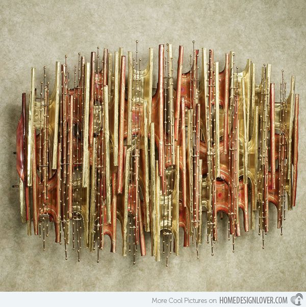 Modern Abstract Wall Art 15 modern and contemporary abstract metal wall art sculptures