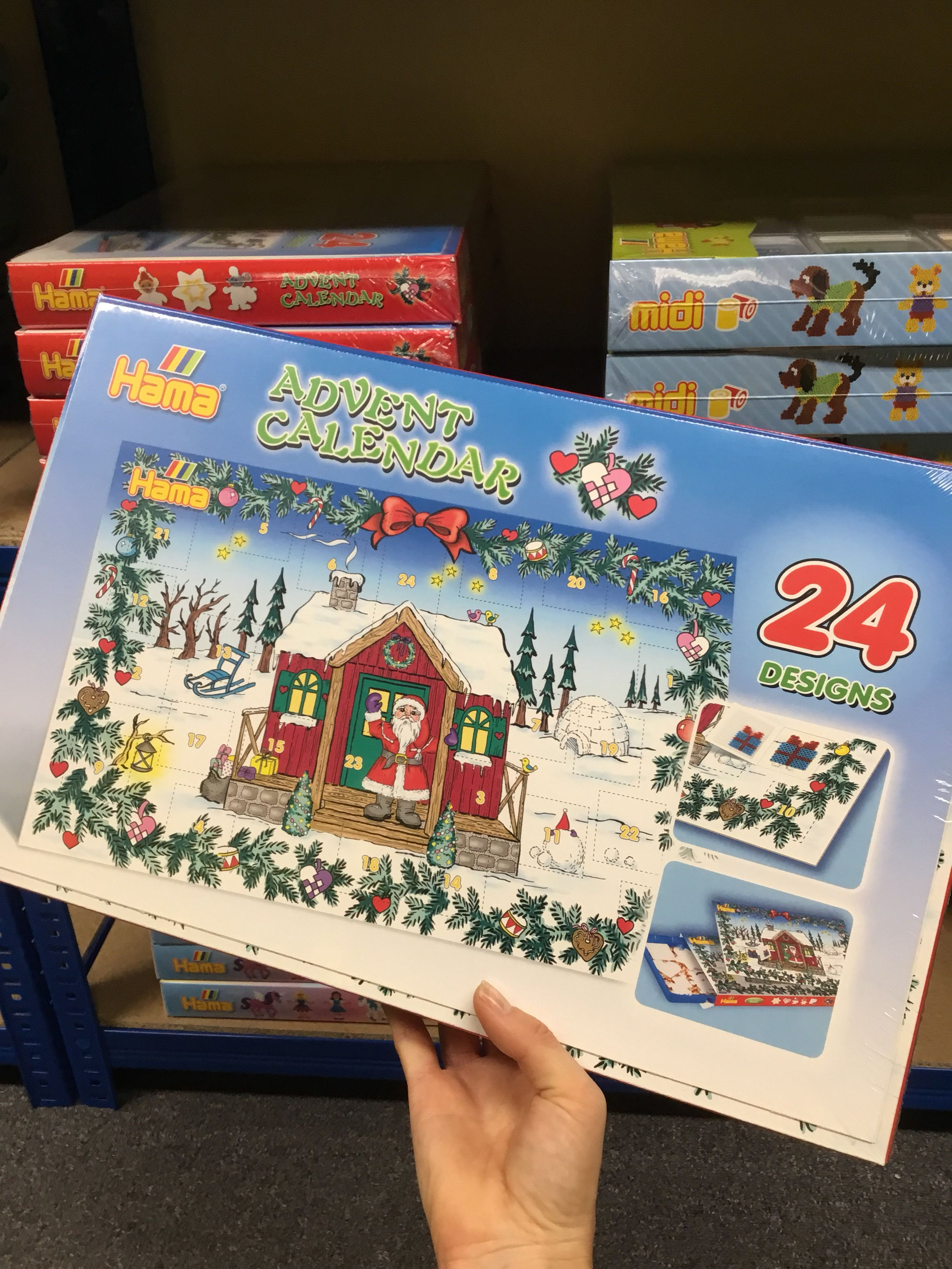 993012865f924 The brand new Hama Beads advent calendar is flying off shelves! We just  stocked up
