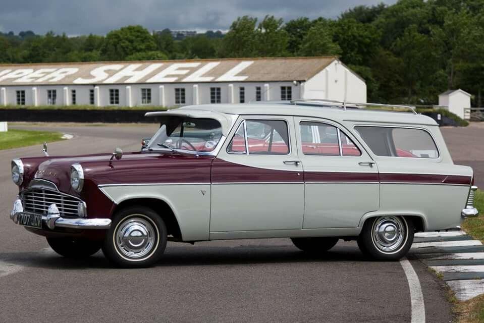 Old British estate cars. Ford Zodiac MkII Estate.   Wagons 4All ...