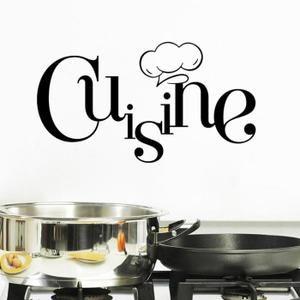 Cr ative stickers muraux pour cuisine d coration la maison fond d 39 cran - Stickers pour maison ...