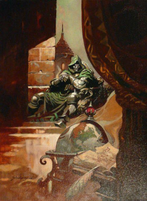 Doom throne by Tom Grindberg