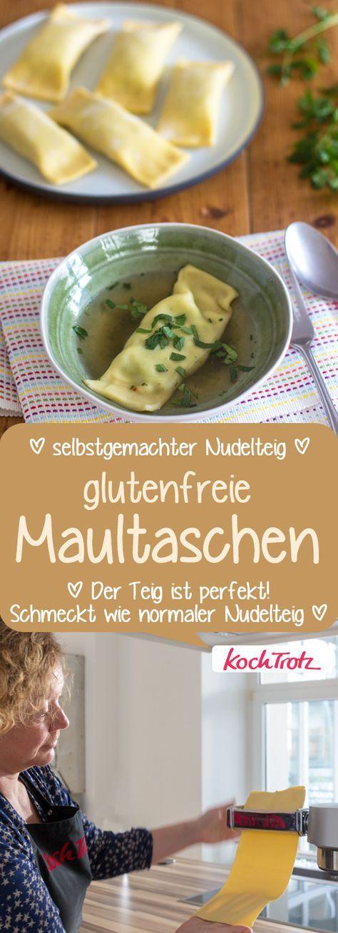 Photo of Gluten-free dumplings with homemade pasta dough – KochTrotz | creative recipes