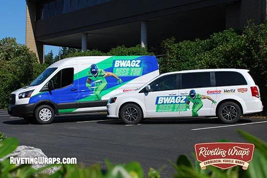 Bobby Wagner Charity Van Wraps Van Wrap Wagner Bobby Wagner