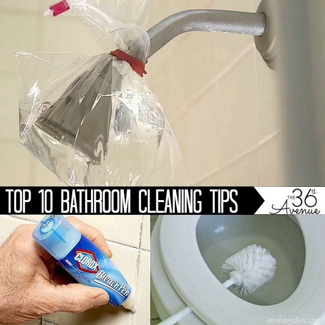 Top Bathroom Cleaning Tips With Images Bathroom Cleaning Cleaning Hacks Bathroom Cleaning Hacks