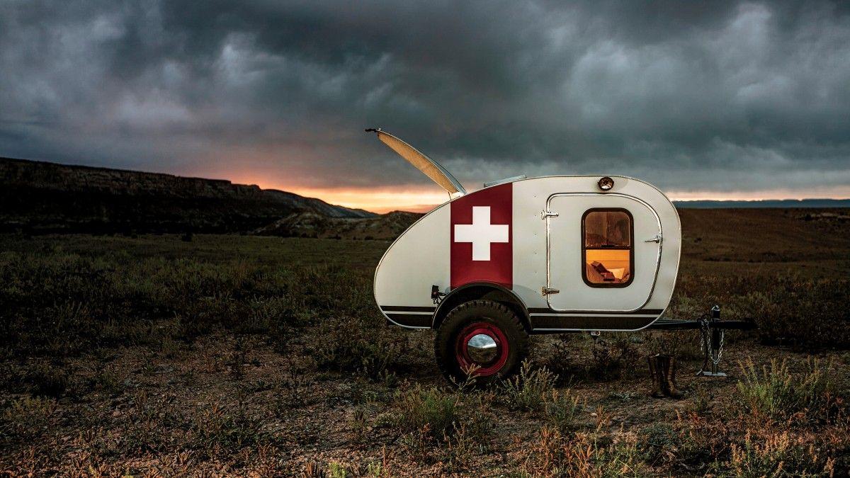 Vintage Overland caravan