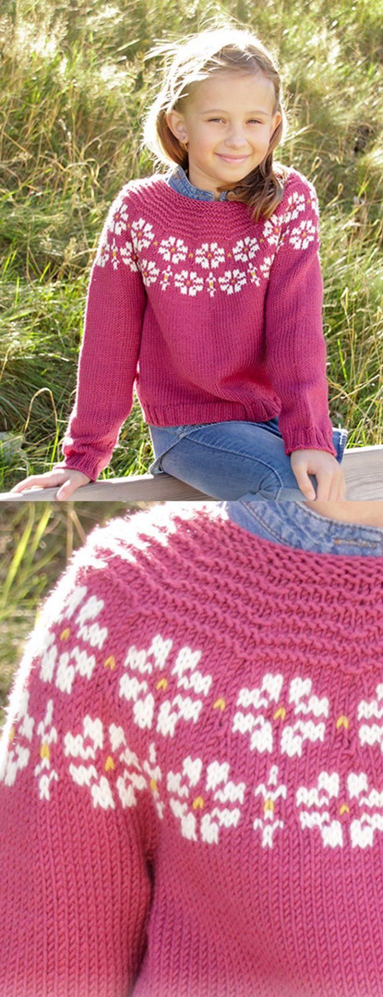 14+ Free Knitting Patterns for Girls | Knitting girls ...