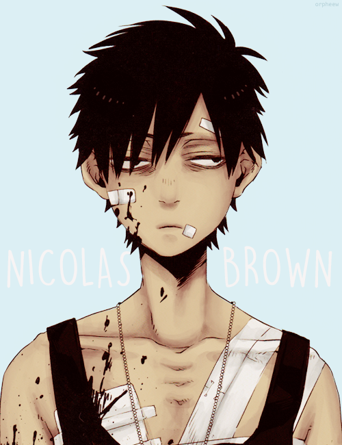 (Coloured from the GANGSTA. ARTWORKS art book scans x ...