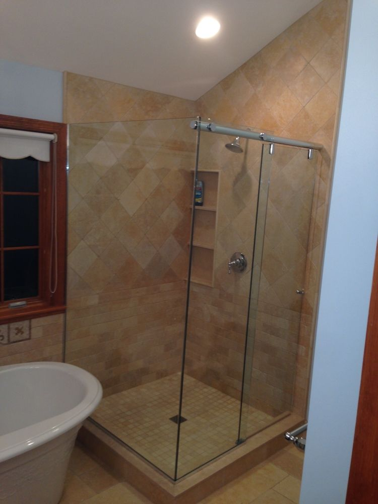Glass Shower Enclosures | Glass shower enclosures, Shower enclosure ...