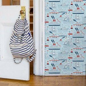 Ταπετσαρία στο παιδικό υπνοδωμάτιο   Small Things