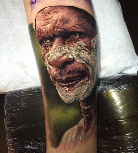 Hyperrealistic Tattoos Look Like Photographs Tattoos Portrait Tattoo Native Tattoos