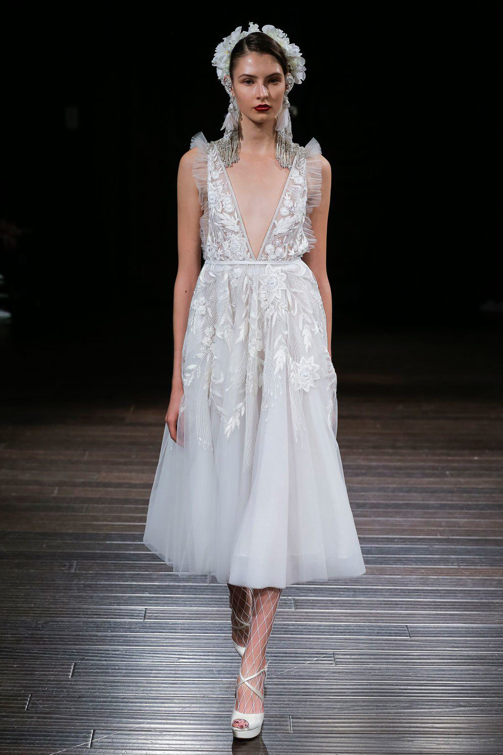 Naeem khan bridal fall fashion show collection casamento da