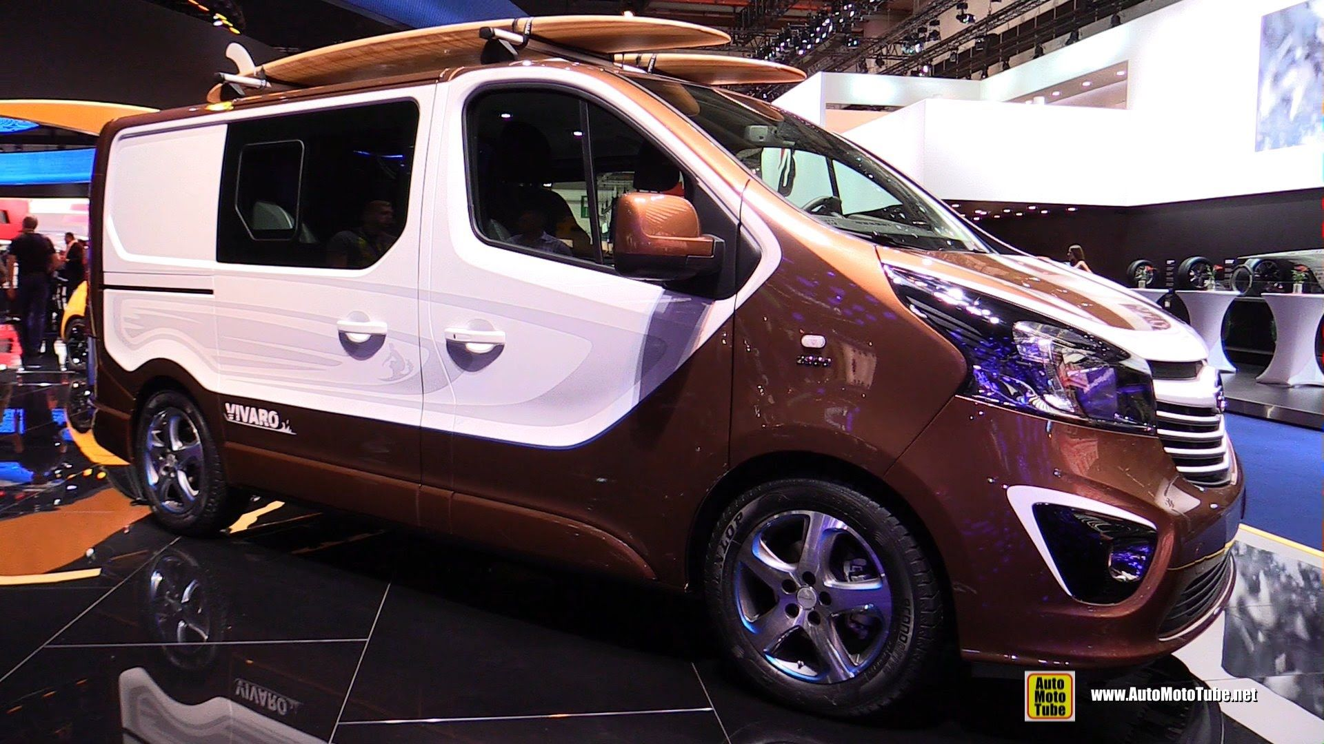 2016 Opel Vivaro Surf Concept Vehicle - Exterior and Interior ...