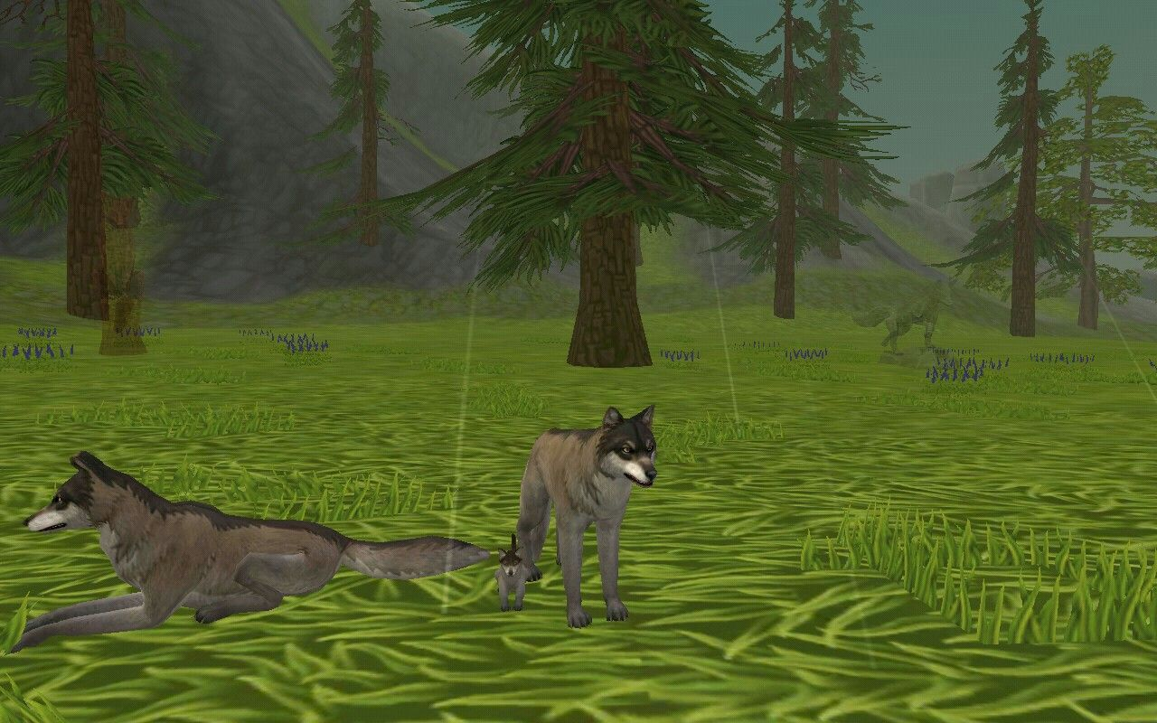 My baby in wildcraft (you need to play this game