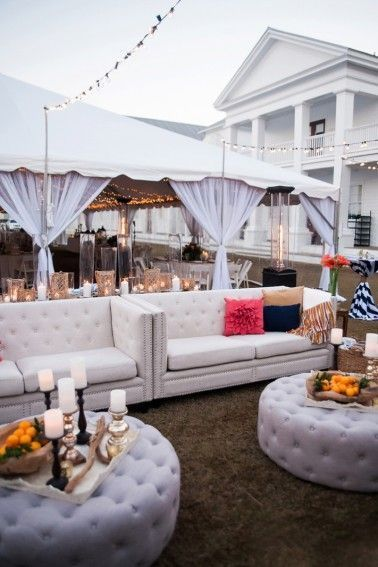 Lounge para Bodas: 30 Ideas Fabulosas para Decorar Tu Recepción ...