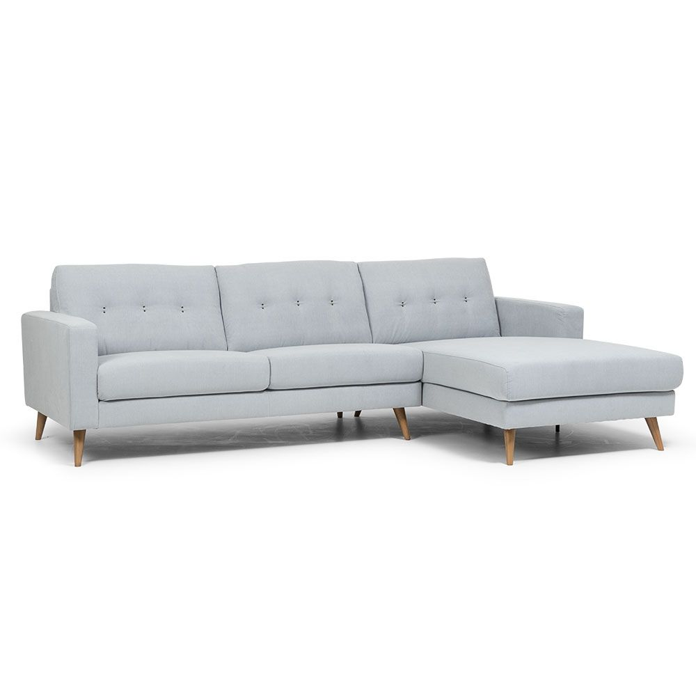 Harlow Chaise Sofa Frost Target
