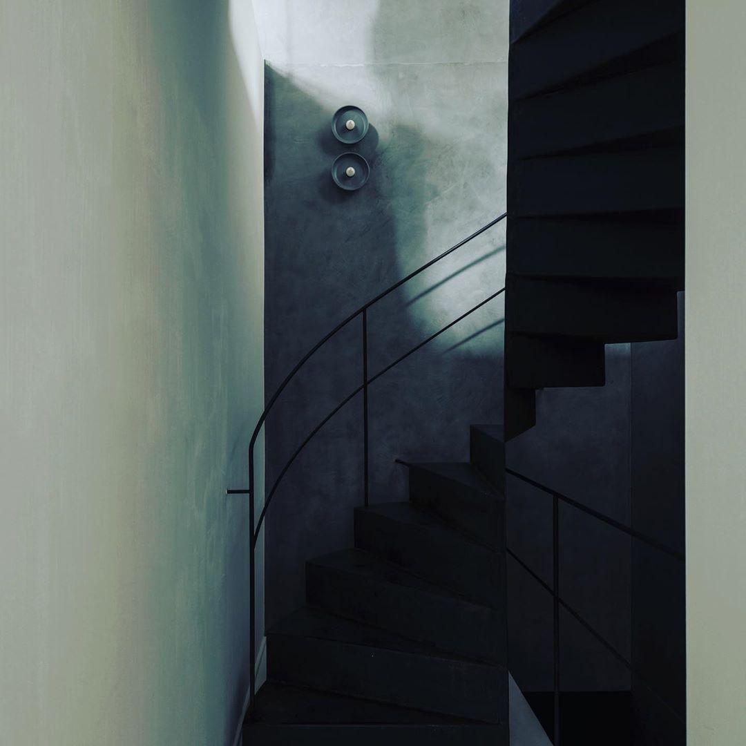 """Koen Van Guijze on Instagram: """"recent lightingdesign. staircase fixtures in ceramic. .. .. .. #lighting #lightingdesign #walllamps #wabisabi #imperfect #timeless…"""""""