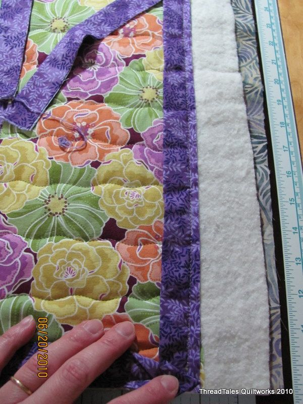 Instructions For One Fell Swoop Quilts Piecing On The Quilting