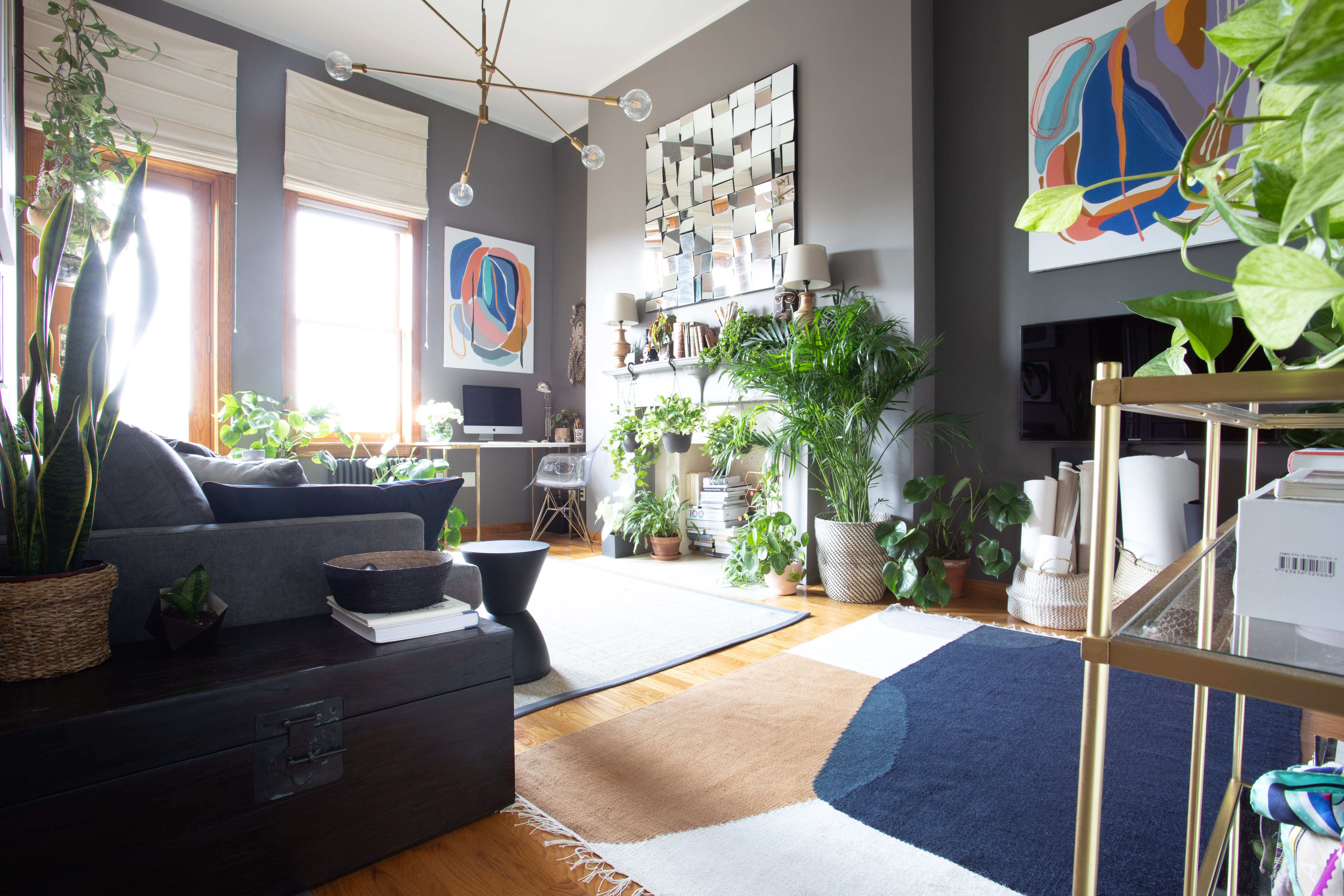 A Creative Spirit Fills Her Home With Plants And Art Home Decor