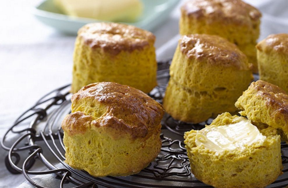 Pumpkin makes cakes and scones so moist and this easy recipe will be in high rotation!