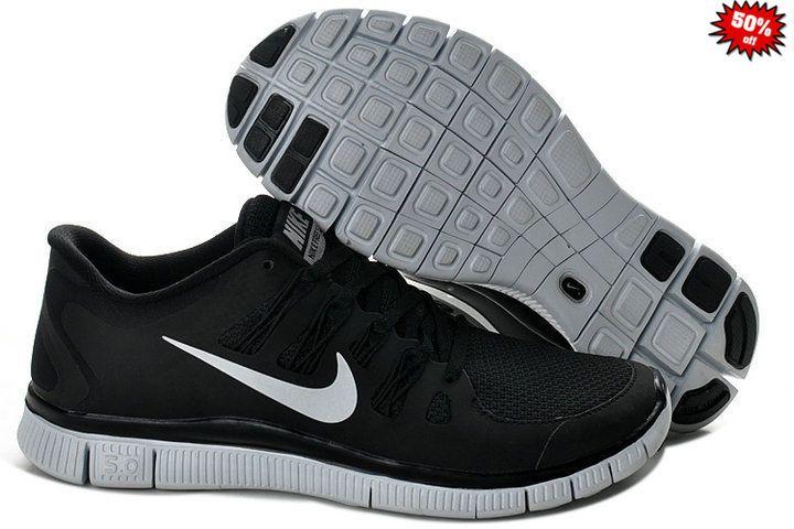 la meilleure attitude 14434 6c0a8 85840 2014 Chaussure Nike Free Run 5.0 Homme Noir Argenté ...