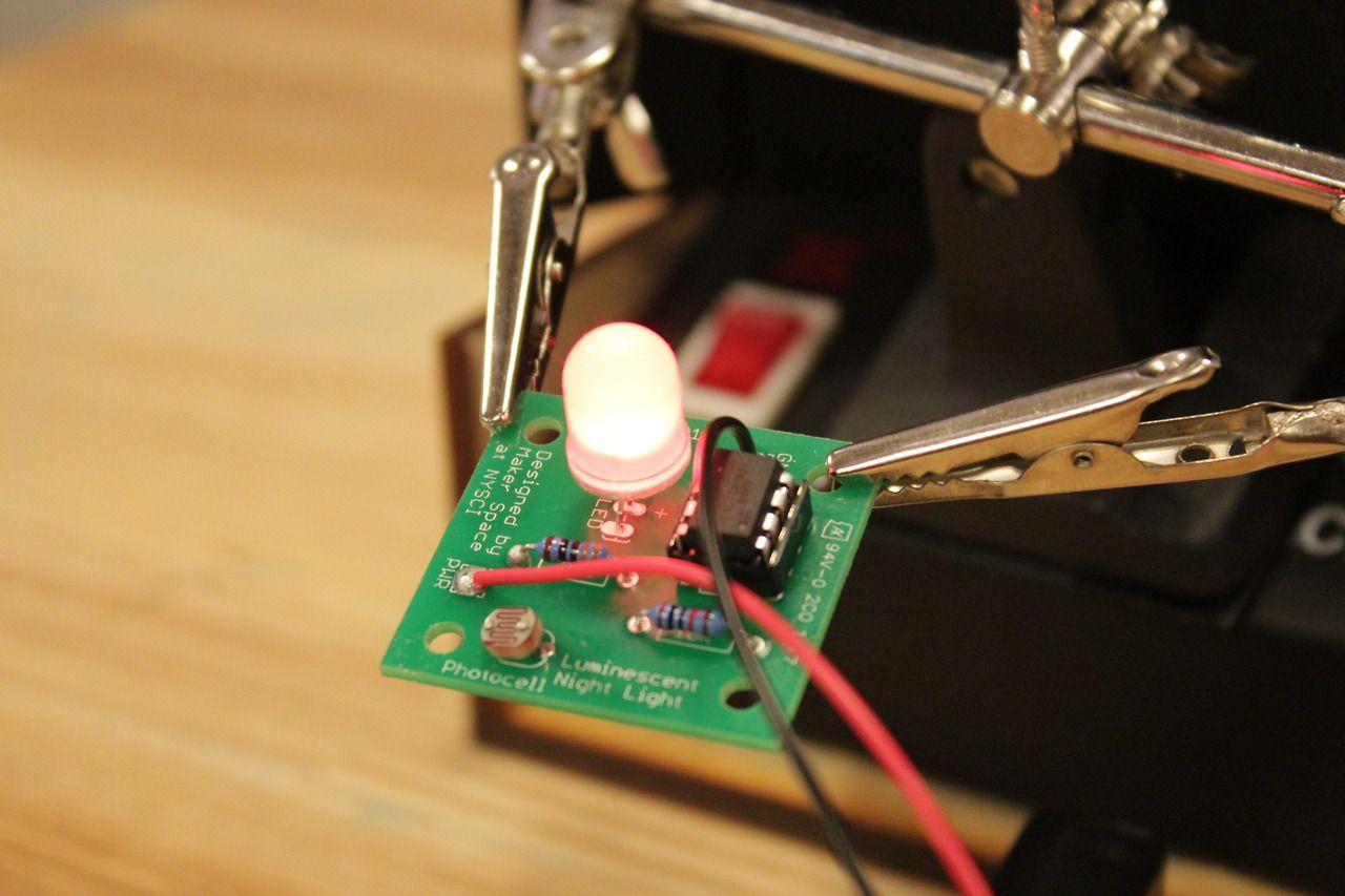 Night light using arduino - Luminescent Night Light Code If You Made A Luminescent Night Light And Are Interested In The