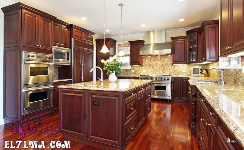 ديكورات مطابخ 2021 صور مطابخ سوف نتعرف سوي ا عبر هذا المقال على ديكورات مطابخ Kitchen Inspiration Design Kitchen Appliances Luxury Wooden Countertops Kitchen